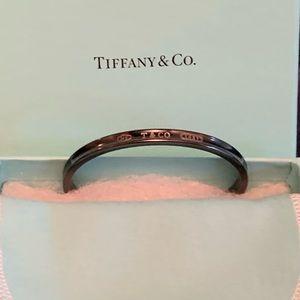 Tiffany Titanium Black Wrist Cuff Bracelet